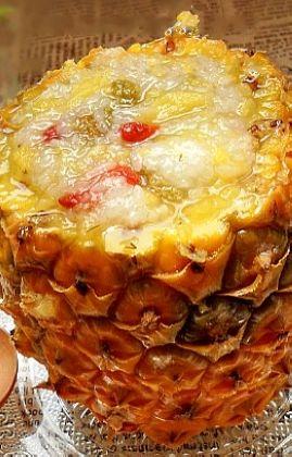 香甜菠萝饭的做法