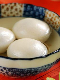 桂花芝麻汤圆的做法