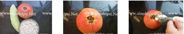 蕃茄苦瓜的做法图