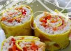蛋皮寿司的做法