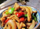 青椒洋葱炒鸡肠的做法