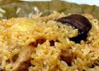 特色菜谱:鸭肉荷叶饭的做法