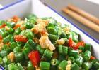 剁椒肉末炒豇豆的做法