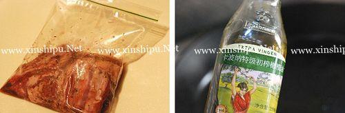第3步红酒蒜香羊排的做法图片