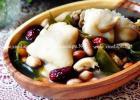滋补养颜暖身汤 海带花生猪蹄汤的做法