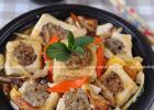 精致宴客菜 香菇猪肉酿豆腐煲的做法