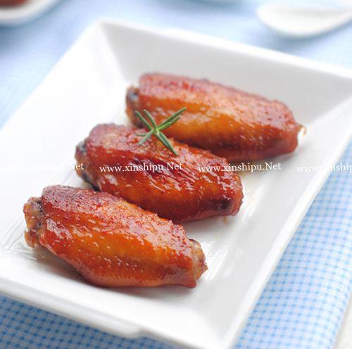 第1步酱烤鸡翅的做法图片