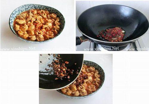 第5步麻辣十足味浓醇厚的麻辣水煮兔的做法图片