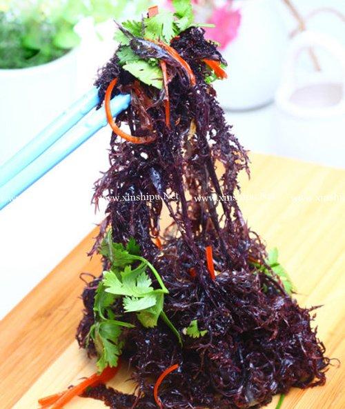 第1步拌紫晶藻的做法图片