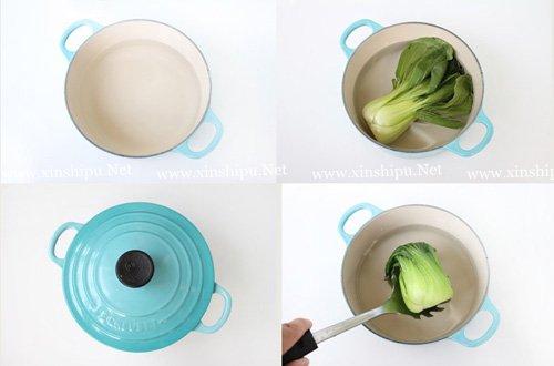 第4步香菇烧面筋的做法图片