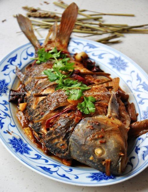第1步红烧活鱼的做法图片