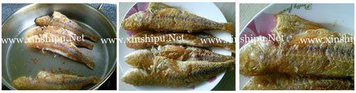 第4步自制美味红烧鱼的做法图片