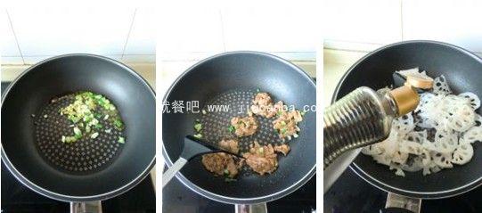 滋阴润燥食谱 莲藕炒肉片